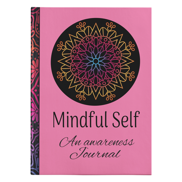 Mindful Self Designer Hardcover Awareness Meditation Journal in 2 Sizes