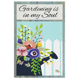 Gardening Is In My Soul Original Design Canvas Wall Art