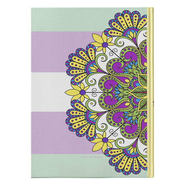Kalen Mandala Designer Hardcover Journal in 2 Sizes - Mind Body Spirit