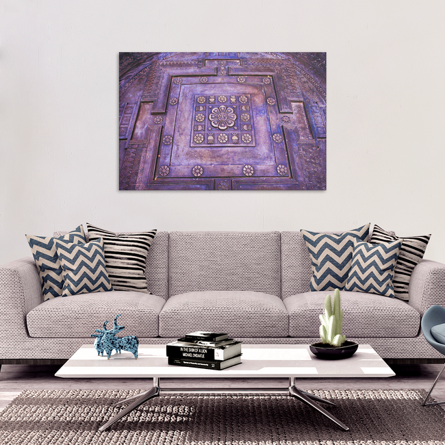 Tibetan Kalachakra Mandala Canvas Wall Art - Awesome Spiritual Art in 4 Sizes - Mind Body Spirit