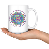 Today and Every Day Mandala Mantra Large 15 oz Mug