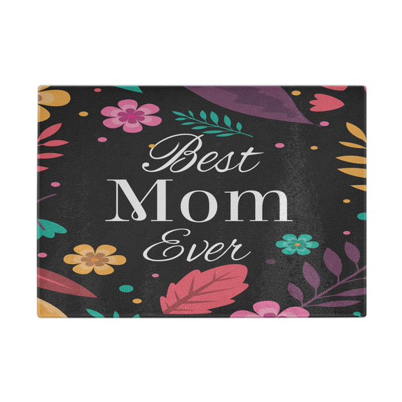 Best Mom Every Cutting Board 11 x 8 - Mind Body Spirit