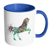 Boho Unicorn Coffee Tea & Cocoa Mugs 11 oz - 7 Colors
