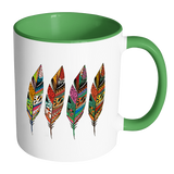 Four Feathers 11 Oz Coffee, Tea And Cocoa Mugs - 7 Colors