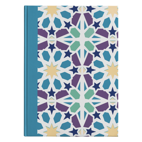 Kismet Mosaic Designer Hardcover Journal in 2 Sizes - Mind Body Spirit
