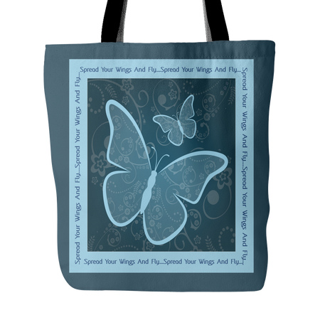 Kitty Love Custom Design Tote Bag 18 x 18
