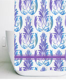 Chantal Vintage Print Shower Curtain 70 x 70