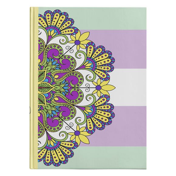 Kalen Mandala Designer Hardcover Journal in 2 Sizes