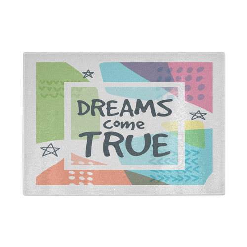 Dreams Come True Cutting Board - Mind Body Spirit