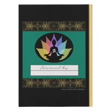 Just Breathe Buddha Om Lotus Hardcover Journal in 2 Sizes