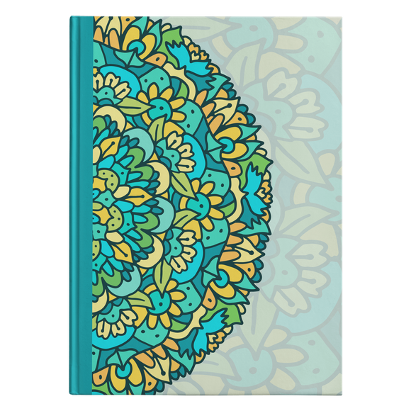 Zuli Mandala Designer Hardcover Journal in 2 Sizes