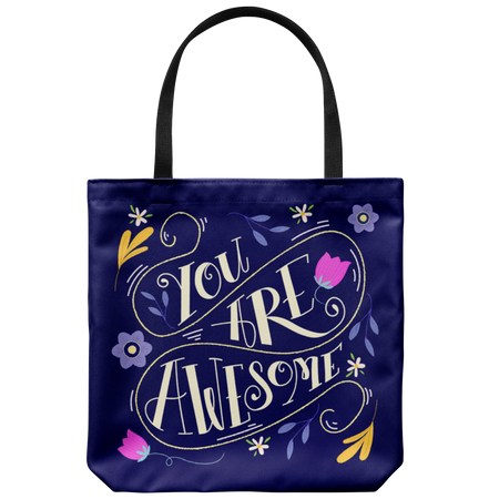 All You Need Is Love Tote Bag 18 x 18 – Hot Pink