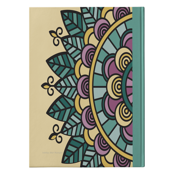Sadira Mandala Designer Hardcover Journal in 2 Sizes - Mind Body Spirit