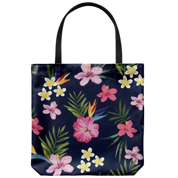 Leilani Fresh Tropical Custom Design Tote Bag 18 x 18 - Mind Body Spirit