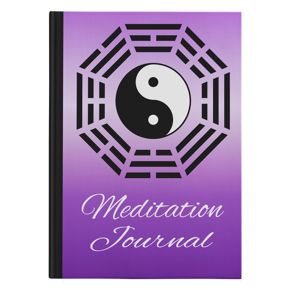Ying Yang Designer Hardcover Meditation Journal in 2 Sizes