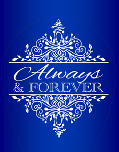 Always and Forever LED Designer Night Light - Mind Body Spirit