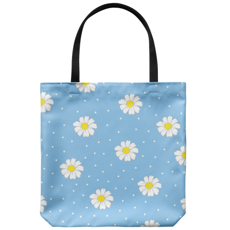 Kitty Blue Eyes Original Design Tote Bag, Shopping, Beach Bag,  18 x 18