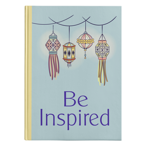 Be Inspired Designer Hardcover Journal in 2 Sizes