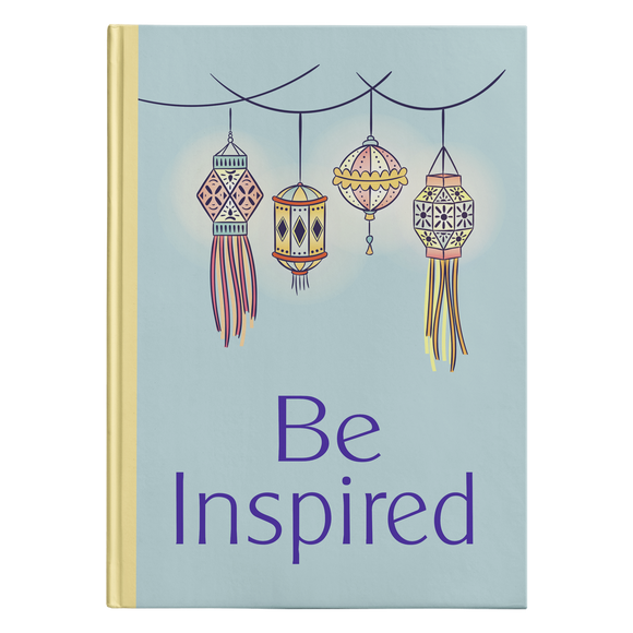 Be Inspired Designer Hardcover Journal in 2 Sizes - Mind Body Spirit