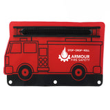 Pencil Pouch, Fire Engine Shape