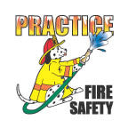 Tattoo Dalmatian Practice Fire Safety  FFD2905