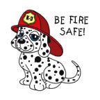 Tattoo, Be Fire Safe Dalmatian FFD2930