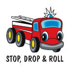 Tattoo, Stop, Drop Roll Truck  FFD2931
