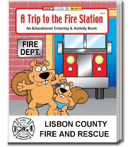 Coloring Book/Activity Book A Trip to the Fire Station CB104