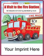 Coloring Book/Activity Book A Visit to the Fire Station CB106