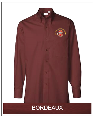 WSFA Long Sleeve Baby Twill Shirt (Bordeaux)