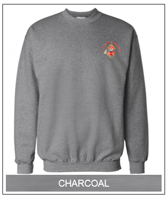 WSFA  Ultimate Cotton Crew-Neck Sweatshirt (Charcoal)