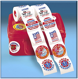 Stickers,  EMS 5-On-A-Roll Safety Stickers  200 Stickers per Roll