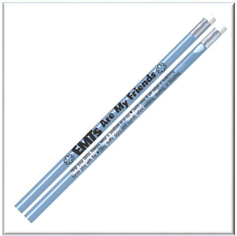 EMTs Are My Friends Heat-Sensitive Pencils Item # PL1220P