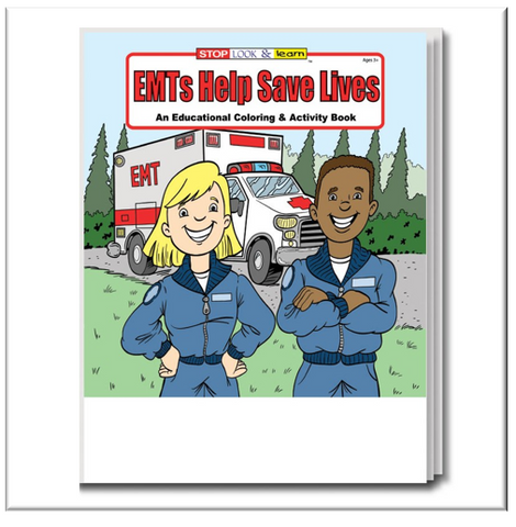EMTs Help Save Lives Educational Activities Book #0380