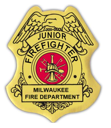 Custom Jr. Firefighter Badge Sticker