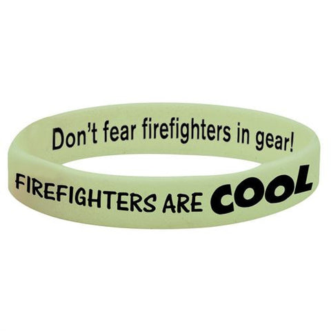 Bracelet-Glow-in-the-Dark  Firefighters Are Cool Pack of 25 GN-4323E