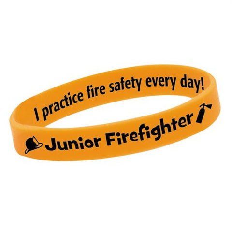 Bracelet-Glow-in-the-Dark  Practice Fire Safety Pack of 25 GN-8094E