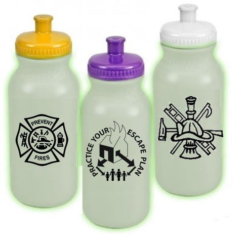 Bike Bottle 20 oz. Glow-in-the-Dark FFDWB20G