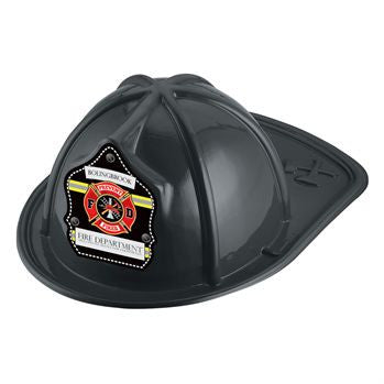 Jr. Firefighter Helmet-Custom- Prevent Fires<br>HM-116 Red<br>HM-117 Black<br>HM-118 Pink