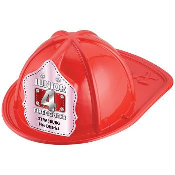 Jr. NO 4 Firefighter Helmet-Custom <br>HM-163 Red<br>HM-164 Black<br>HM-165 Pink