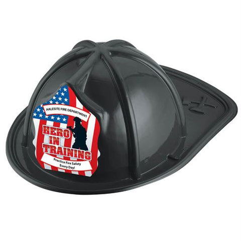 Jr. Firefighter Helmet-Hero in Training -Custom <br>HM-190 Red<br>HM-189 Black<br>HM-191 Pink
