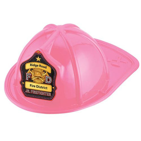 Jr. Firefighter Helmet F D Shield- Custom <br>HM-222 Red<br>HM-223 Black<br>HM-224 Pink
