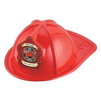 Jr. Fire Safety Starts With Me Helmet- Custom  <br>Red HM-92<br>Black HM-93<br>Pink HM-103