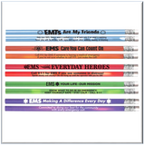 Heat-Sensitive Pencil Assortment Pack With EMS Safety Tips  Item # PL-1521P