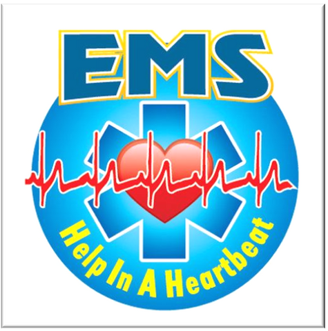 EMS: Help In A Heartbeat temporary tattoos