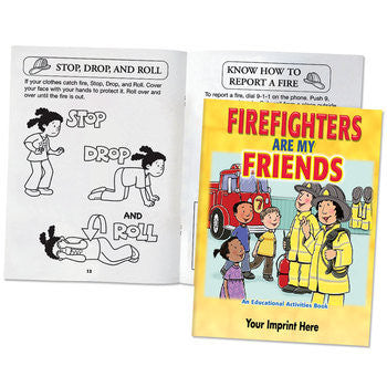 Coloring/Activity Book Firefighters Are My Friends  Grades 2-3<br>KCB-246