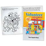 Coloring/Activity Book Volunteer Firefighters  <b>Grades 1-2<br>KCB-291