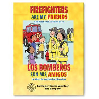 Coloring/Activity Book Firefighters Are My Friends Bilingual  Grades 2-3<br>KCB-322