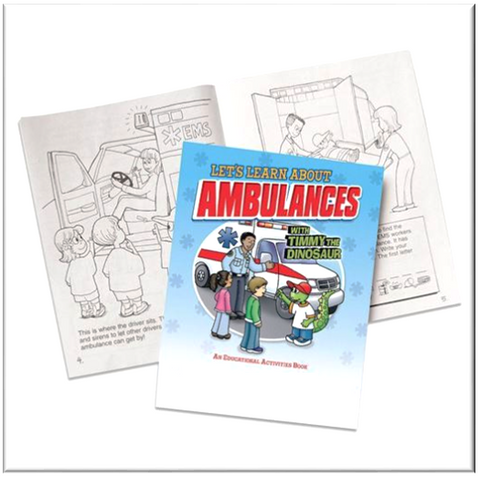 Let's Learn About Ambulances Educational Activities Book