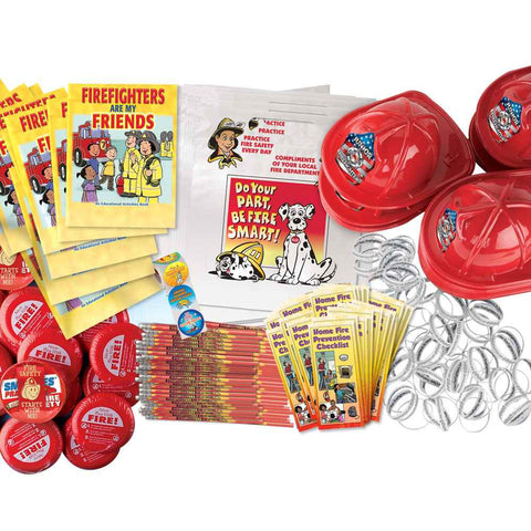 Fire Prevention Open House Kit   900 Items   NT-2371
